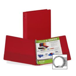 648 Units of Samsill 3-Ring Vinyl Value Storage Binder - Binders