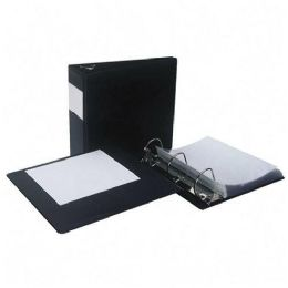 132 Units of Samsill Antimicrobial D-Ring Binder With Label Holder - Binders