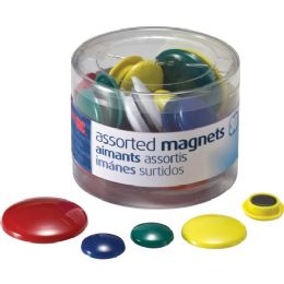 Oic Circle Handy Magnets - Office Supplies