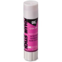 3360 Units of Oic Disappearing Color Glue Stick - Glue