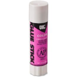 1104 Units of Oic Disappearing Color Glue Stick - Glue