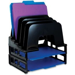 Oic Incline Sorter With Two Trays - Office Supplies