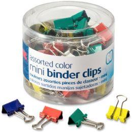 Oic Metal Mini Binder Clips - Binders