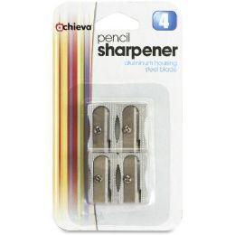 Oic Metallic AlL-Metal Cutter Pencil Shrpnr - Pens & Pencils