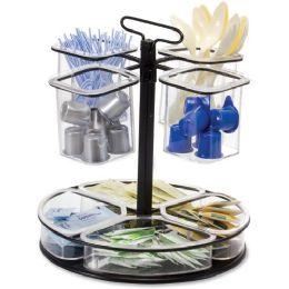 12 Units of Oic Rotary Condiment Organizer - Organizer