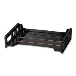 Oic Side Loading Stackable Desk Tray - Office Supplies