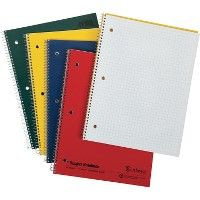 Oxford 3-Hole Punched Wirebound Notebook - Notebooks