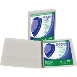 Samsill Antimicrobial Insertable Round Ring Binder - Binders