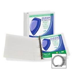 192 Units of Samsill Antimicrobial Insertable Round Ring Binder - Binders