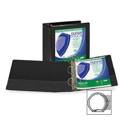 90 Units of Samsill Antimicrobial Insertable Round Ring Binder - Binders