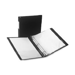 Samsill Antimicrobial Locking Round Ring Binder - Binders