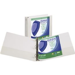 Samsill Clean Touch Value Round Ring View Binder - Binders