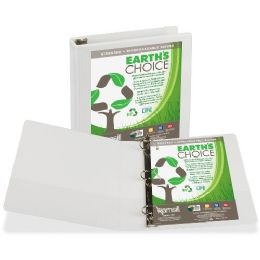 Samsill Earth's Choice Biodegradable D-Ring View Binder - Binders