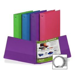 384 Units of Samsill Fashion Assorted Value Storage Binder - Binders