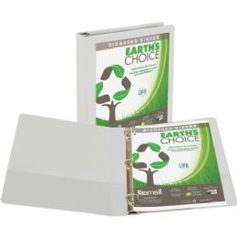Samsill Recycled Insertable Vue Binder - Binders
