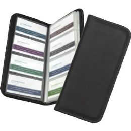 Samsill Sterling Business Card Holder - Business cards
