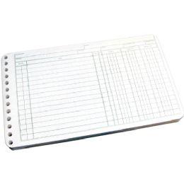 Wilson Jones Multiple Hole Ledger Sheet - Office Supplies