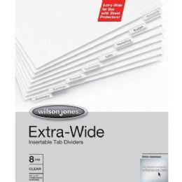 Wilson Jones Oversized Insertable Tab Indexes - Office Supplies