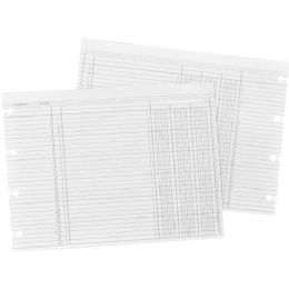 Wilson Jones Regular Ledger Sheets - Office Supplies