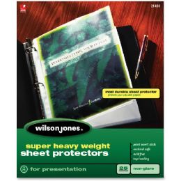 20 Units of Wilson Jones Super Hvywt Nonglare Sht Prctors - Office Supplies