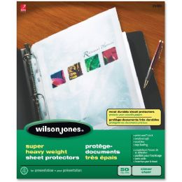 Wilson Jones Top Loading Sheet Protector - Sheet protector