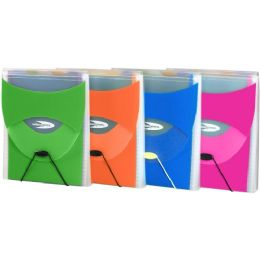 18 Units of Wilson Jones Vertical Poly Filer With Strap - File Folders & Wallets