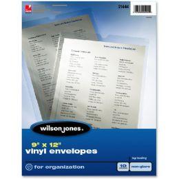 Wilson Jones Vinyl Envelope - Envelopes