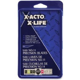 10 Units of X-Acto No.11 Classic Fine Point X-Life Refill Blade - Office Supplies