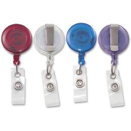 Advantus Retracting Id Card Reel With Belt Clip - Id card