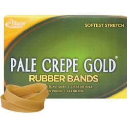 Alliance Rubber Pale Crepe Gold Rubber Band - Rubber bands