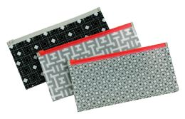 8 Units of Zip Envelope, ChecK-Size, Assorted - Envelopes