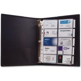 Anglers 3-Ring Business Card Binder - Business cards