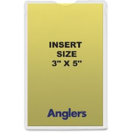 51 Units of Anglers Self-stick Crystal Clear Poly Envelopes - Envelopes