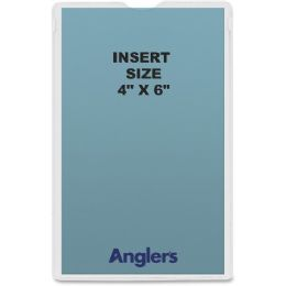Anglers Self-stick Crystal Clear Poly Envelopes - Envelopes