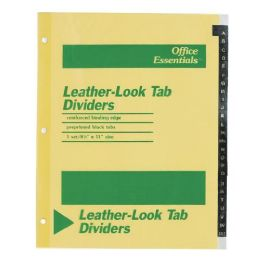 240 Units of Avery A-Z Leather-Look Tab Dividers - Dividers & Index Cards