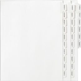 Avery A-Z Legal Exhibit Divider - Dividers & Index Cards