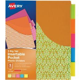 Avery Big Tab Pocket Divider - Dividers & Index Cards