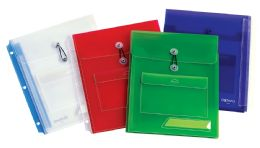 20 Units of Oxford Binder Envelope - Assorted Colors - Binders