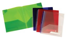 30 Units of Oxford Twin Pocket Binder Accessory Assorted - Binders