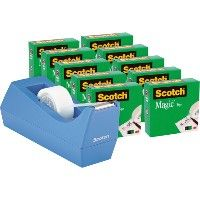 36 Units of Scotch Magic Desktop Tape Dispenser - School and Office Supply Gear