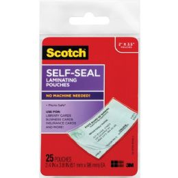 Scotch SelF-Sealing Laminating Business Card Pouches - Business cards