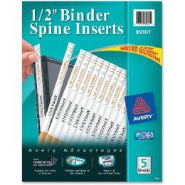 Avery Binder Spine Insert - Binders