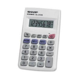 Sharp El233sb 8-Digit Pocket Calculator - Calculators