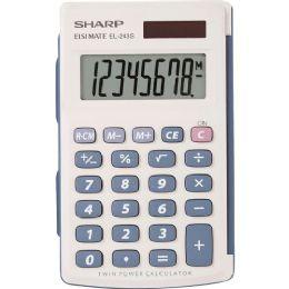 Sharp EL243SB Handheld Calculator - Calculators