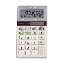 340 Units of Sharp EL244TB Dual-Power Pocket Calculator - Calculators