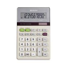 130 Units of Sharp El334tb Dual Power Portable Calculator - Calculators