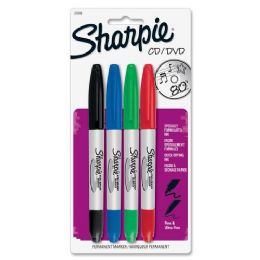 90 Units of Sharpie CD/DVD Marker - Markers