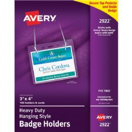 Avery Flexible Badge Holder - Badge holder