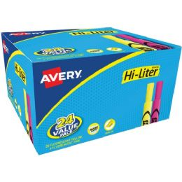 Avery Hi-Liter Bonus Pack - School and Office Supply Gear