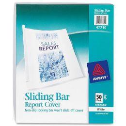Avery NoN-Slip Sliding Bar Report Cover - Report cover